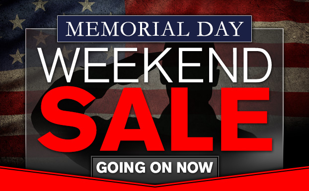 Memorial Day Weekend Sale Going on Now